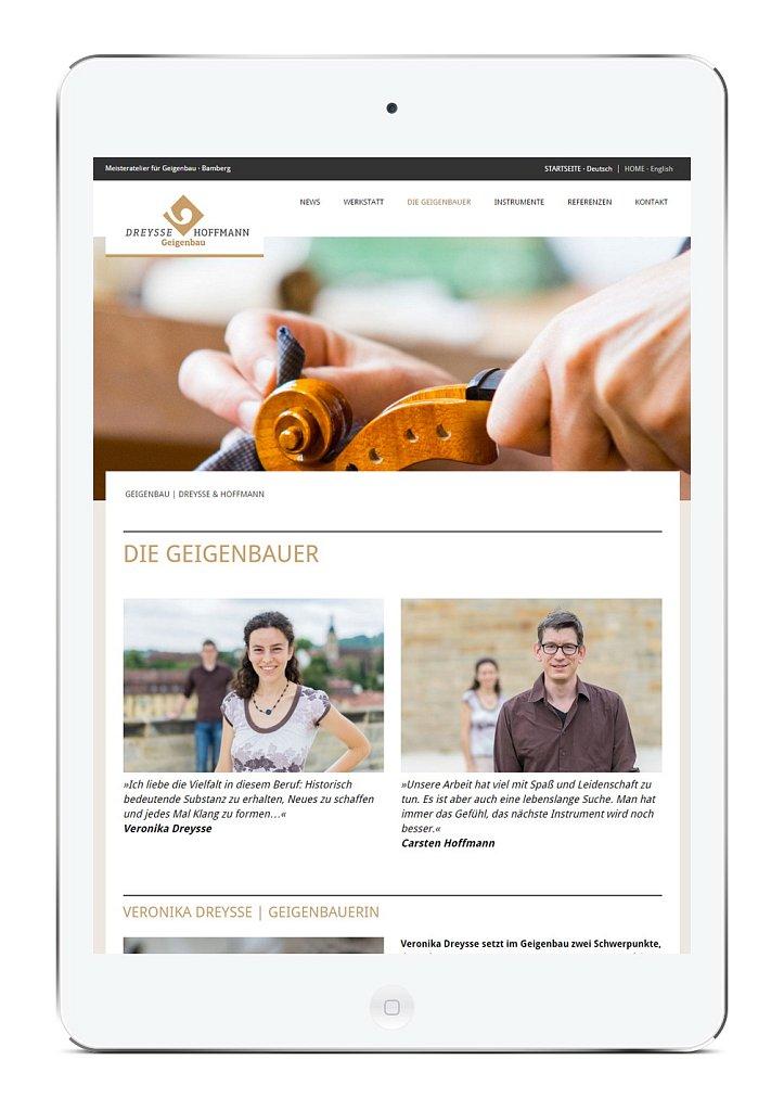 Meisteratelier für Geigenbau Dreysse & Hoffmann