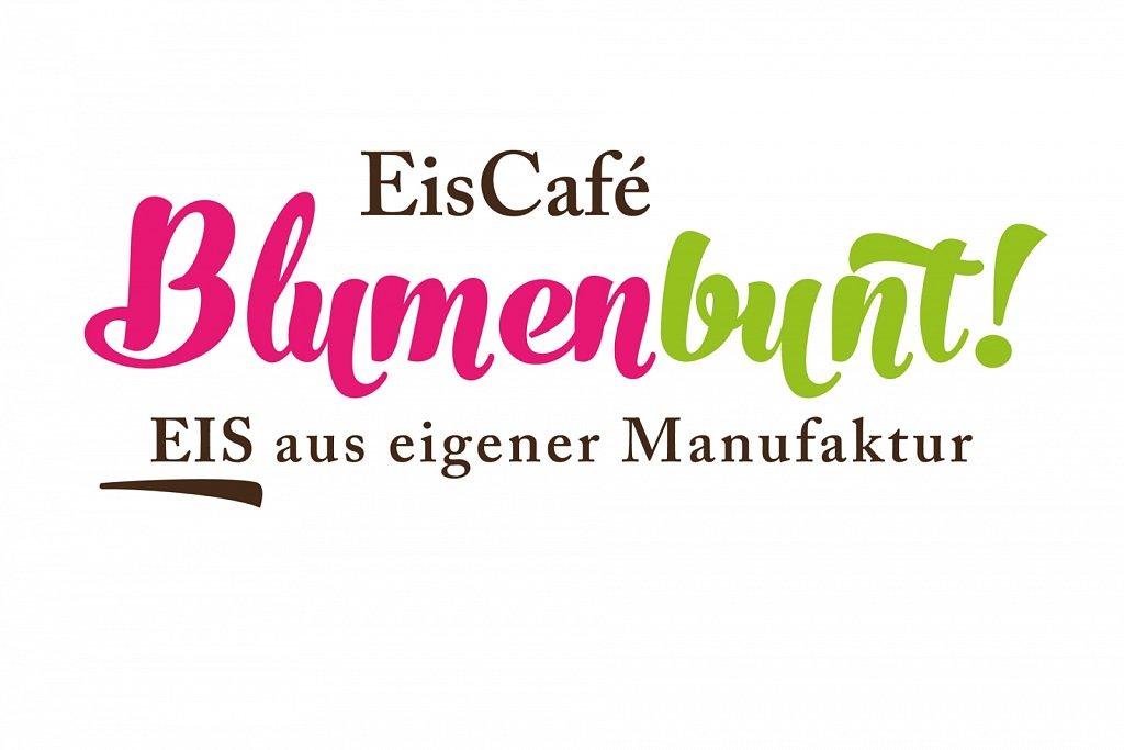 Eiscafé Blumenbunt · Logo