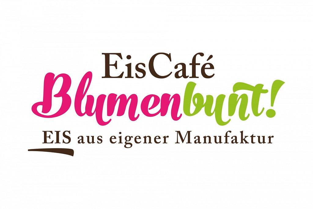LOGODESIGN Eiscafé BLUMENBUNT